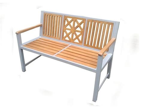 park bench slats laguna park bench synthetic wood slats transitional outdoor benches by dc america