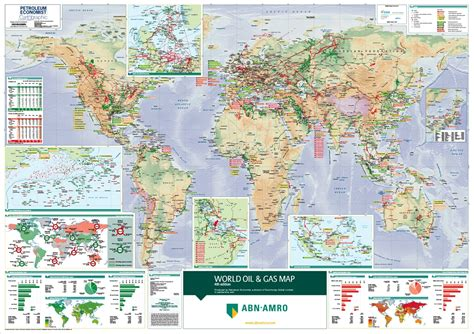 World Atlas Of And Gas Basins world and gas map petroleum economist store