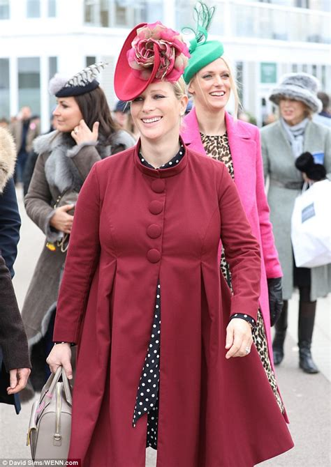 Ready Best Seller One Line Zara preganat zara tindall joins husband mike at cheltenham daily mail
