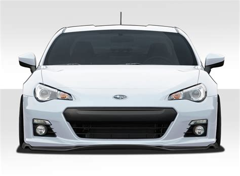 subaru brz front bumper 2014 subaru brz fiberglass front lip add on kit