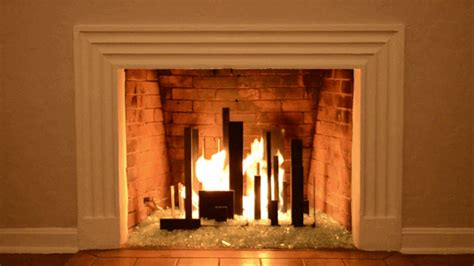 Fireplace Gifs by Yule Log Gif Find On Giphy