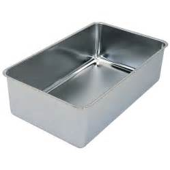 stainless steel steam table spillage water pan
