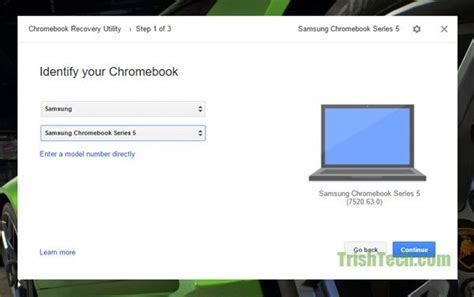 chrome recovery utility create chromebook recovery media in windows or mac