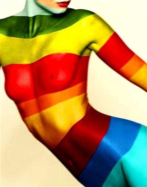 rainbow colors de l arc en ciel toni kami colorful paint nothing but rainbow