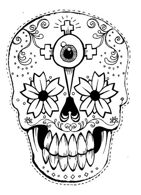 printable masks for day of the dead tiki mask template cliparts co