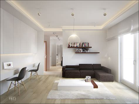 40 Squar Efeet | a 40 square meter flat with a clever and spacious interior