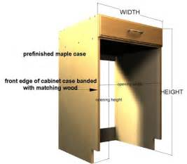 How To Build A Cabinet For A Dishwasher 22 Dishwasher Opening Size Voqalmedia