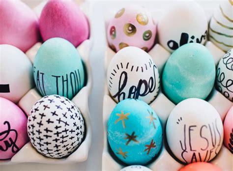 como decorar un huevo de pascua para niños decoraci 243 n f 225 cil 9 diy para decorar huevos de pascua