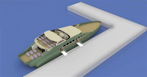 trimaran camila 40m trimaran passenger yacht for up to 150 passengers