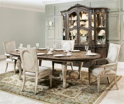 jessica mcclintock dining room set american drew jessica mcclintock boutique 6 piece oval