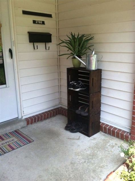 outdoor shoe storage ideas 17 best ideas about outdoor shoe storage on
