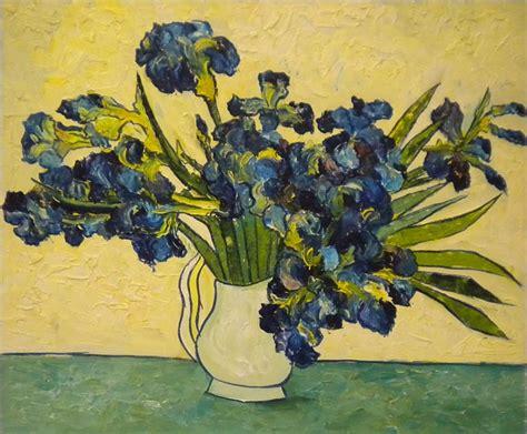 vaso di gogh falso di autore vaso di iris di gogh in vendita