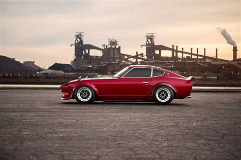 nissan 280z 1977 datsun 280z running with the devil photo image
