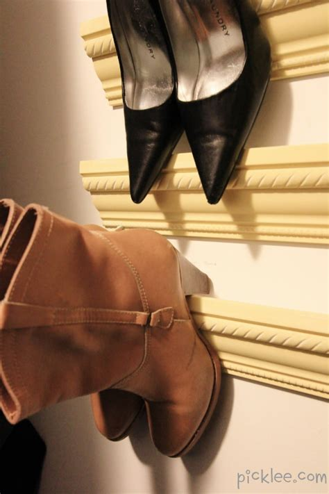 shoe storage projects for small spaces decorating your
