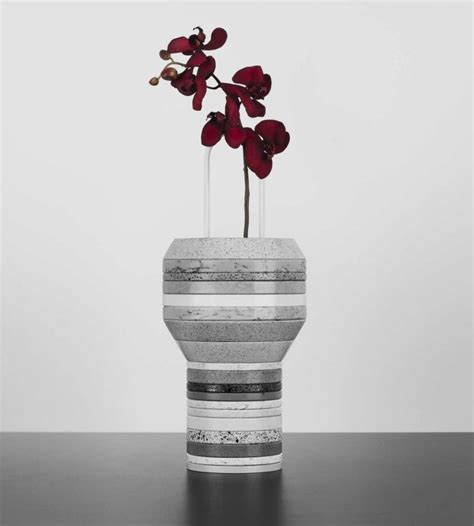 cool vases unique vase made of stacked silestone slab slab vases