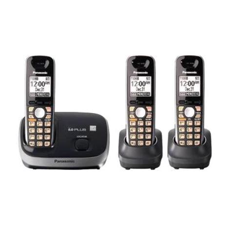 Home Depot Phone by Panasonic Dect 6 0 Cordless Phone With Caller Id And 3
