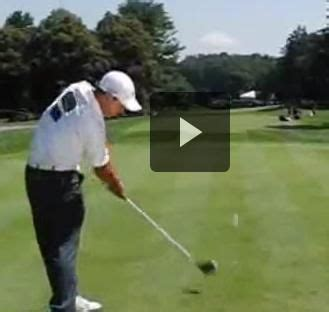 anthony kim swing pin by powerchalk compare your technique to pros on pga