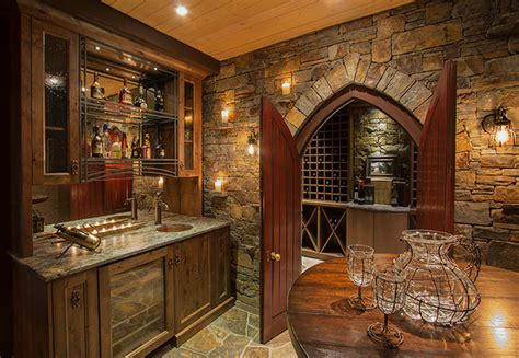 Home Decor Calgary Stores by Riverside Timber Frame Eclectic Home Bar Calgary