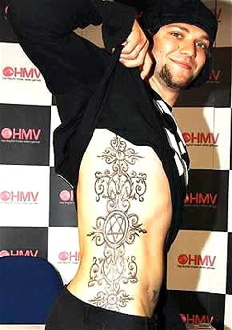 bam margera tattoos which is the poll results bam margera