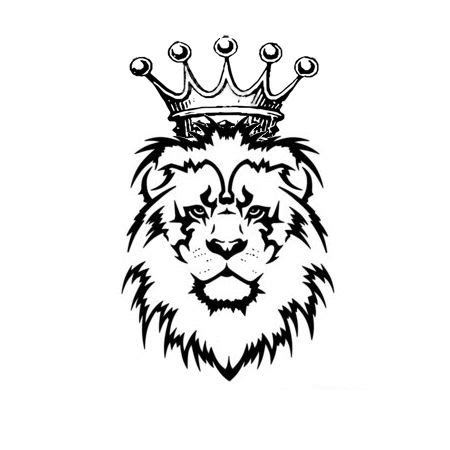 lion crown tattoo designs drawing with crown search crowns crowns