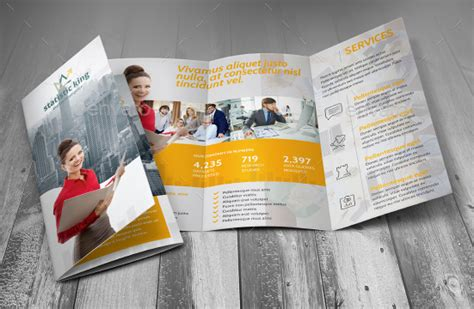 Tri Fold Brochure Template Indesign Cs6