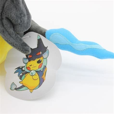 New Pikachu With X Charizard Hat Plush Soft Stuffed Animal 9 quot pikachu with x charizard hat plush soft stuffed animal doll cj454 ebay