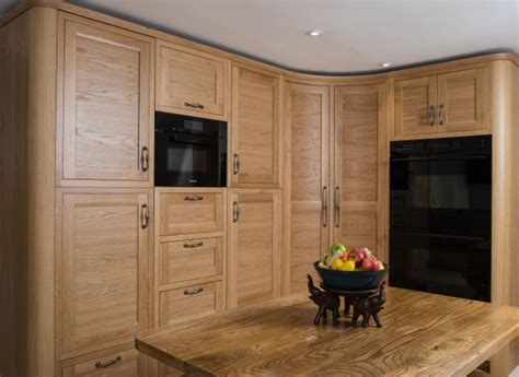 frame oak horizontal grain charnwood kitchens