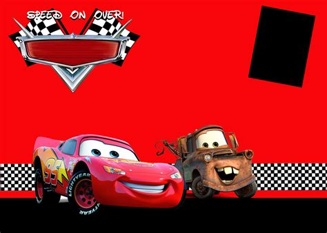 disney cars invitation templates i do on a dime cars