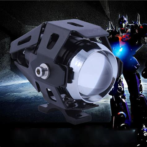 Led Drl 9 Led Sein Bright 15w u5 motorcycle led headlight transformers for