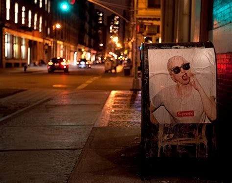 gaga supreme gaga by terry richardson for supreme posters