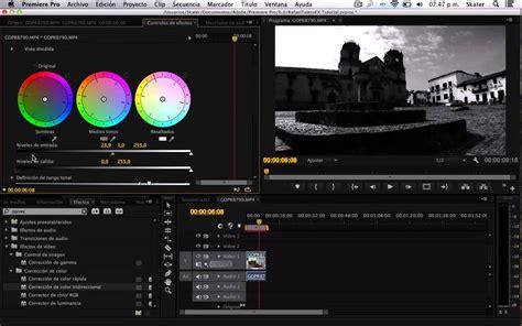 adobe premiere pro black and white convertir un video a blanco negro video to black