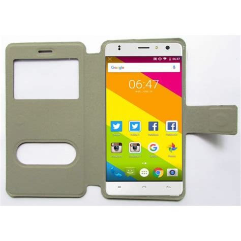 Sale Tempered Glass Color Oppo F5 Cover buy flip cover for zopo color f5 universal s view random at lowest price
