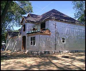 scranton housing authority house wrap application esp 174 low e reflective insulation