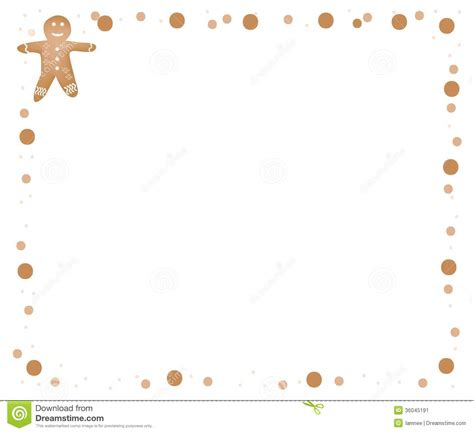 free printable gingerbread man border gingerbread clipart border pencil and in color