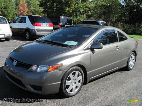 2006 honda civic lx coupe for sale 2007 honda civic lx coupe in galaxy gray metallic 534053