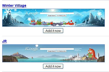 themes for google homepage igoogle themes directory technology bites