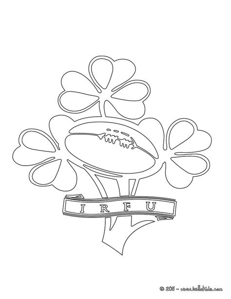 ireland coloring pages ireland rugby team irfu coloring pages hellokids