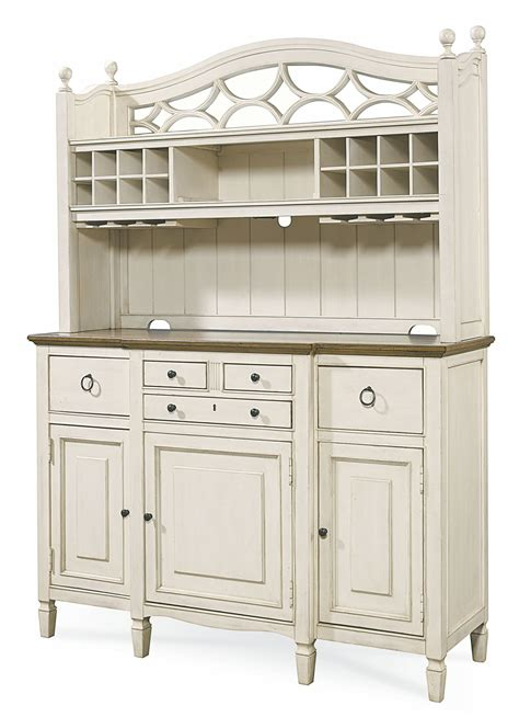 white buffet with hutch summer hill white buffet hutch from universal 987670c coleman furniture
