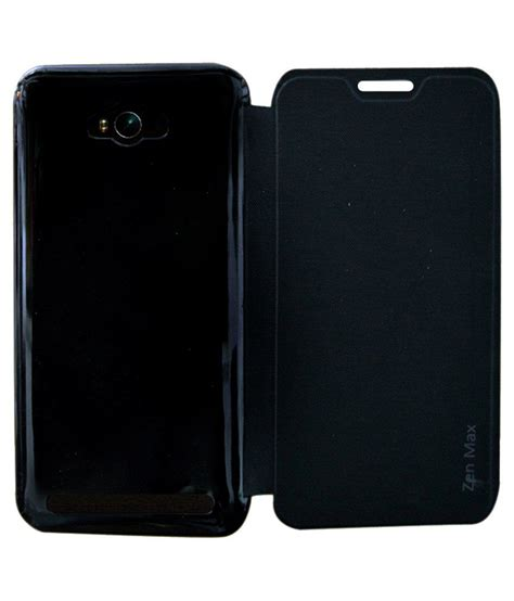 Asus Zenfone 4 Max Pro Leather Flipcover Flipcase Casing Kulit coverage leather flip cover for asus zenfone max zc550kl