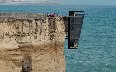 telegraph travel section home hanging from side of a cliff is perfect for living
