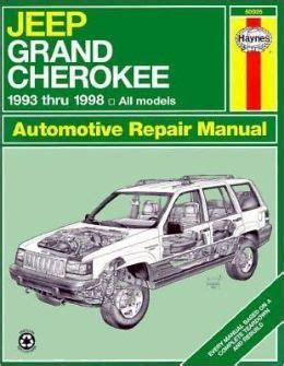 automotive repair manual 2000 jeep cherokee user handbook jeep grand cherokee owners manual