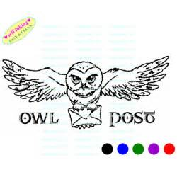 eule post harry potter hedwig owl post brief selbst farbwerk