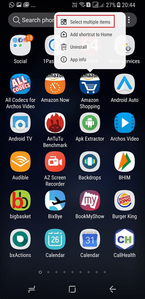 App Drawer Folders by Galaxy S8 Tip Here S How You Create Folders Inside The