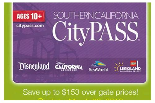 southern california pass deals