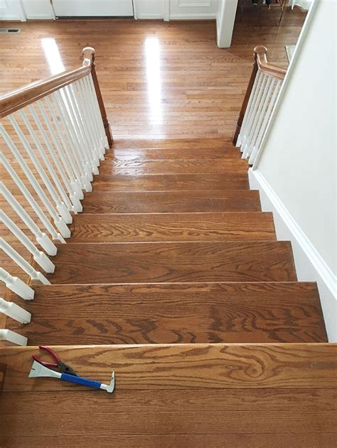 how to remove the carpet from your stairs 11 magnolia lane