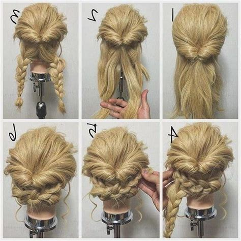 Hairstyles For Hair Updos Easy by Photo Gallery Of Hairstyles Easy Updos Viewing 4 Of