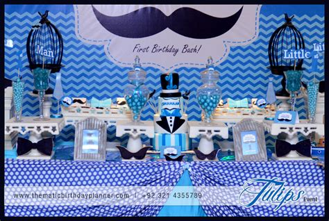 birthday themes man little man mustache