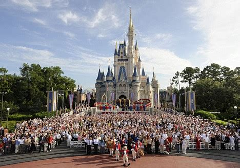 disney offers full time to park staff as obamacare starts