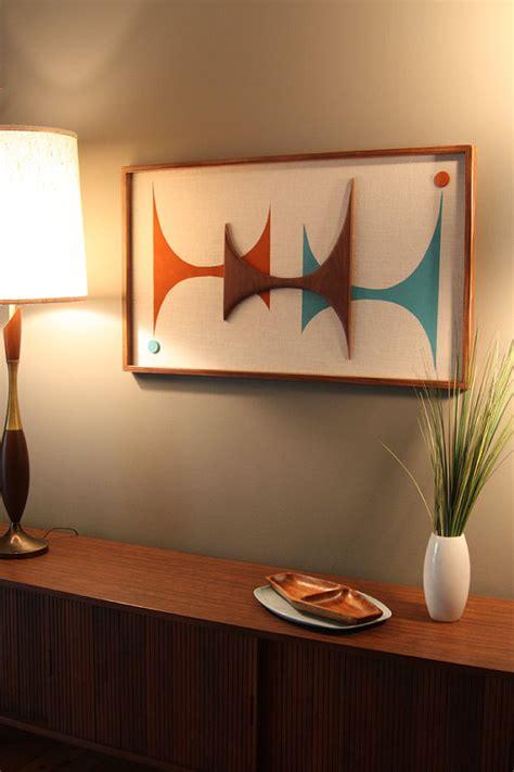 mid century moderne badezimmer eitelkeit mid century modern witco abstract wall sculpture painting