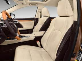 2017 lexus rx 350 interior u s news world report